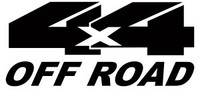 4 x 4 Off Road Decal #2