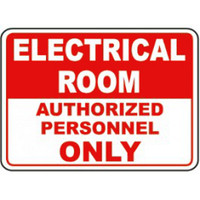 Electrical Room Authorized Personnel Only