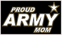 Proud Army Mom Sticker