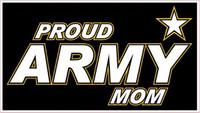 Proud Army Mom Sticker