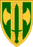 USA 18th Military Police Brigade Sticker