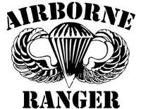 Airborne Ranger Sticker