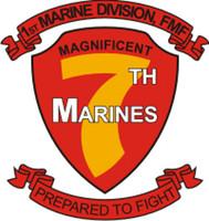USMC 1st Marine Division 7th Marines FMF
