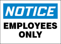 Notice Employees Only 1