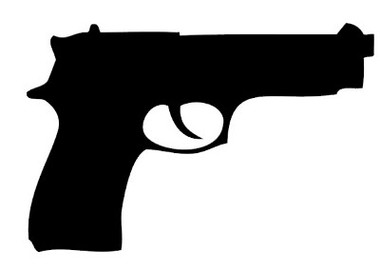 Beretta Pistol Decal #1