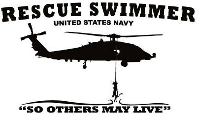 Us Navy Rescue Swimmer Decal