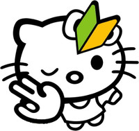 JDM Hello Kitty Decal