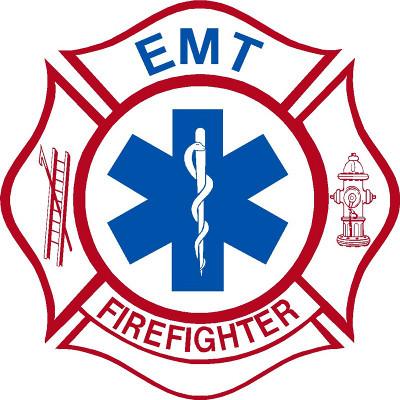 Emt Firefighter Sticker