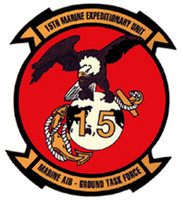 USMC 15th Marine Expeditionary Unit Sticker