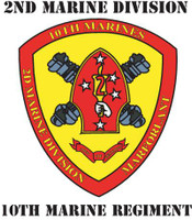 USMC 10th Marine Regiment 2nd Marines Division