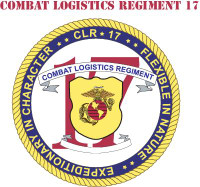 USMC 17th Combat Logistics Battalion With Text