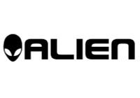 Alien Head & Word Decal