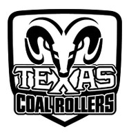 Dodge Texas Coal Rollers Decal