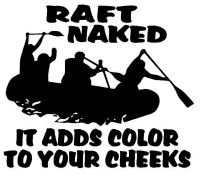 Raft Naked Decal