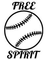Free Spirit Baseball Decal