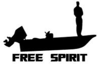 Free Spirit Boating Decal
