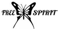 Free Spirit Butterfly Decal