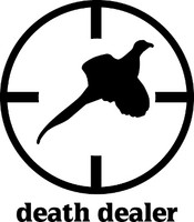 Death Dealer Pheasant Hunting Decal #2