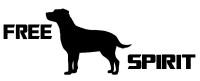 Free Spirit Dog Decal