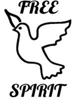 Free Spirit Dove Decal