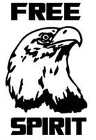 Free Spirit Eagle Decal