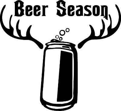 Beer Season Decal