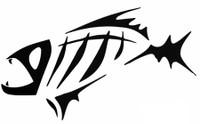 Fish (Tribal) Decal