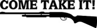 Come Take It Rifle Decal