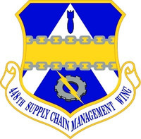 USAF Air Force 448th Supply Chain Management Wing Shield Decal