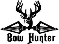 Bow Hunter Decal #1