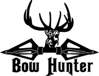 Bow Hunter Decal #2