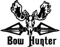 Bow Hunter Decal #3
