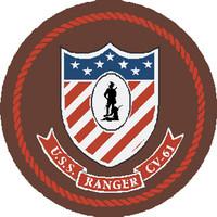 US Navy Aircraft Carrier Ranger CV61