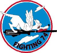 US Navy VF-74 Fighting 74