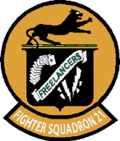 US Navy VF-81 Fighter Squadron 21