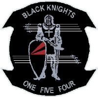 US Navy VF-154 Black Knights One Five Four