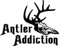Antler Addiction Decal