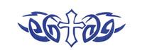 Blue Cross Bumper Sticker