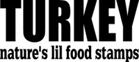 Turkey Nature's Lil Food Stamps Decal