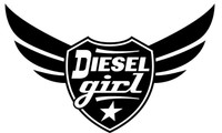 Diesel Girl Decal