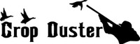 Crop Duster Duck Hunting Decal