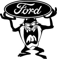 Ford Taz Decal