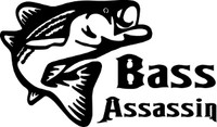Bass Assassin Decal #2