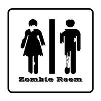 Zombie Room Sticker