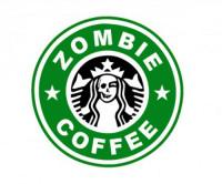 Zombie Coffee Sticker