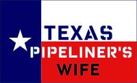 Texas Pipeliner's Wife Sticker