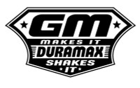 Duramax Shakes It GM Makes It Decal