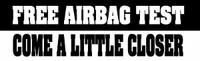 Free Air Bag Test