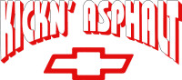 Chevy Kickin Asphalt Decal