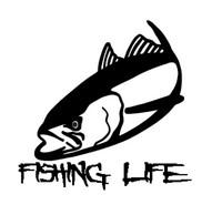 Fishing Life Decal #2